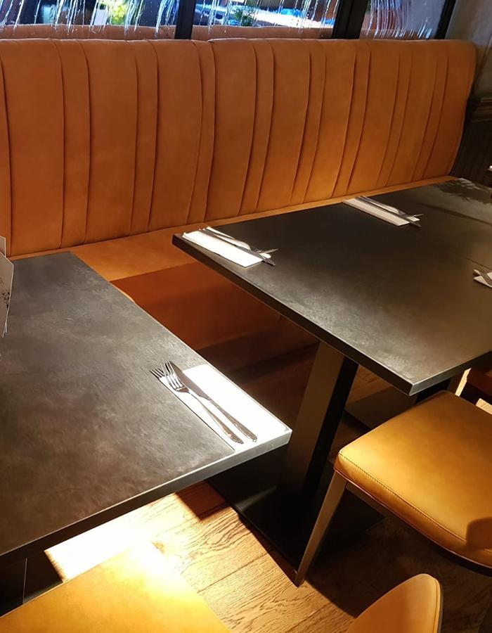 bar fixed seating